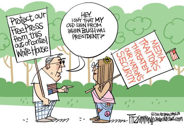 Daily Fitz Cartoon: Scandalous