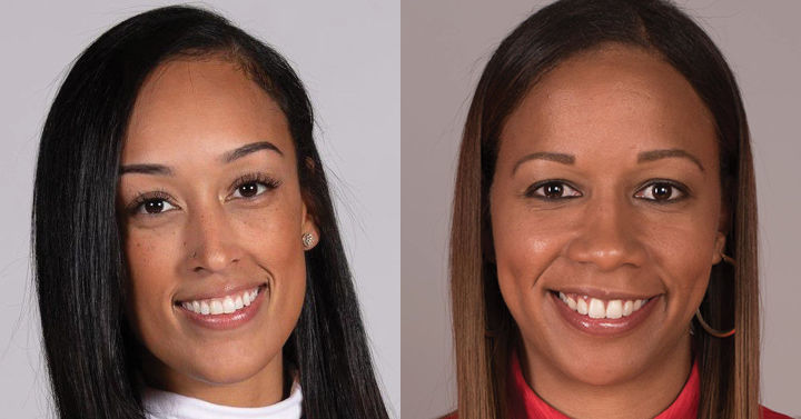 Jackie Nared and Tamisha Augustin