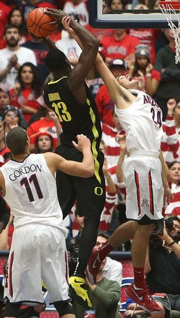 University of Arizona vs. University of Oregon mens basketball