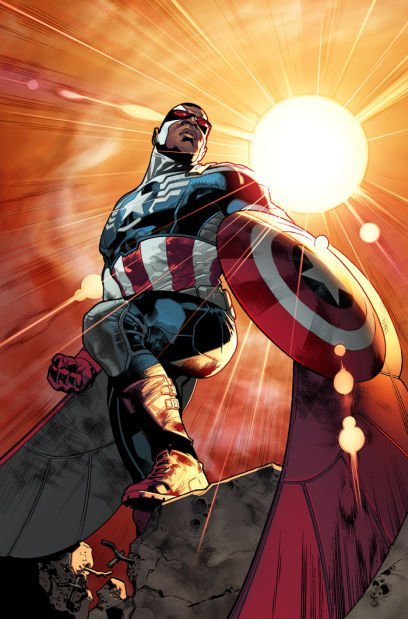 """Sam 'The Falcon"""" Wilson Captain America"""