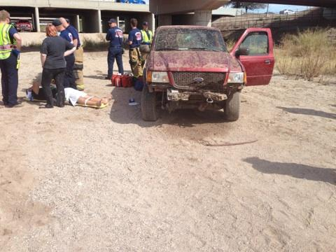 4 teens injured in off-roading crash in NW Tucson