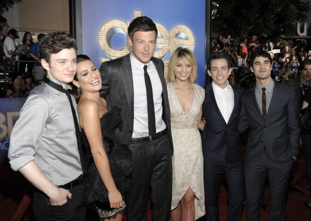 Chris Colfer, Lea Michele, Cory Monteith, Dianna Agron, Kevin McHale, Darren Criss