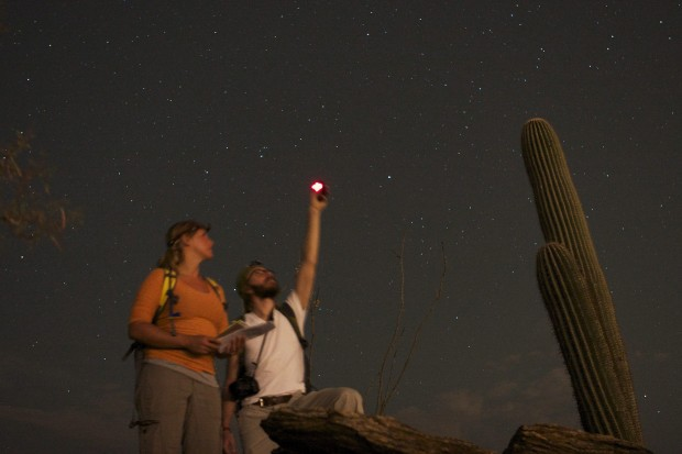 How dark is dark? More so, in Saguaro Park's two units