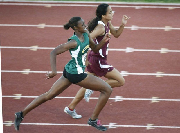 girls track and field: Stepter finishes HS career by winning 3 state crowns