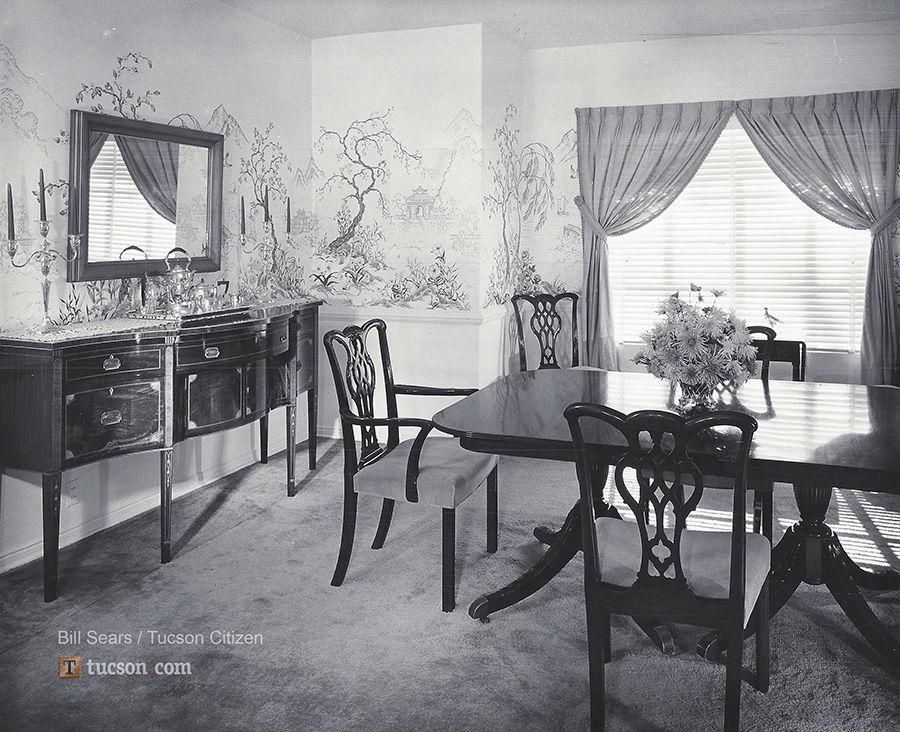 1958 Home Photos 18th Century Decor Retro Tucson Tucson Com