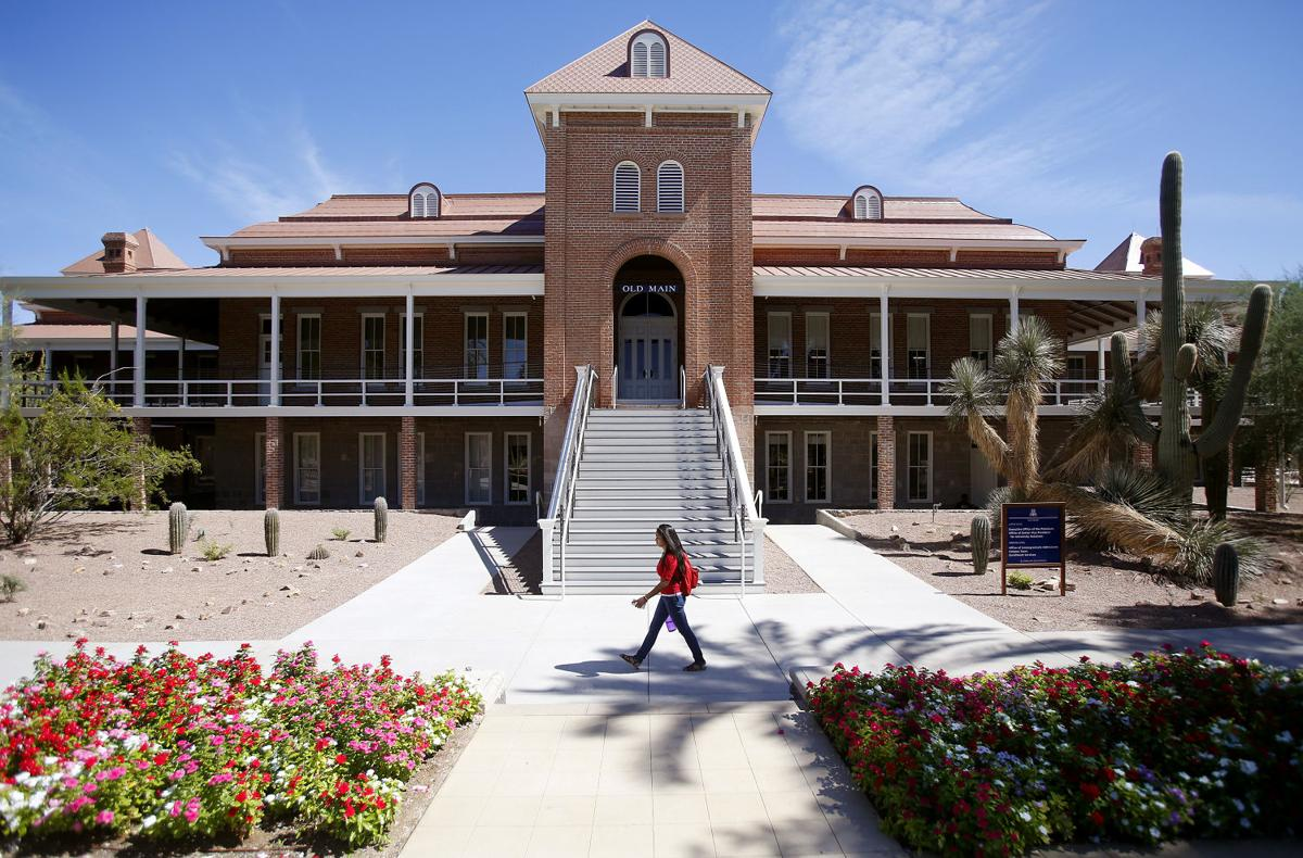Old Main at the University of Arizona
