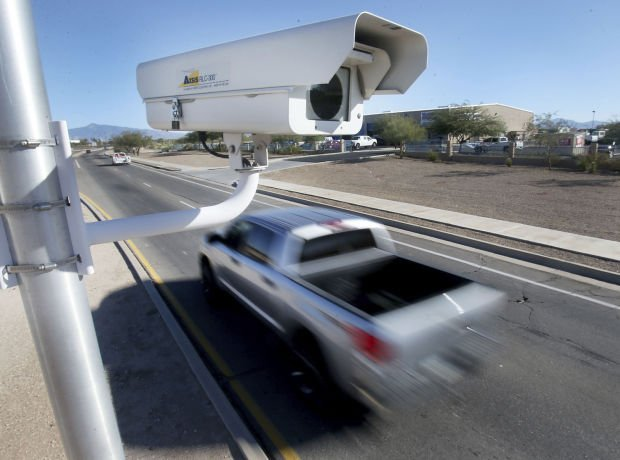 Roadside speed camera