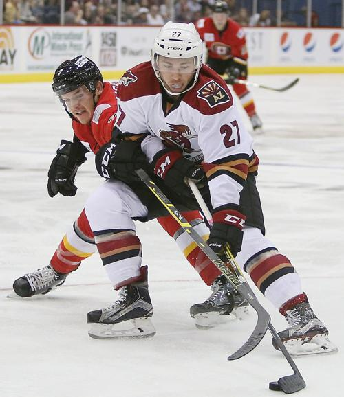 Tucson Roadrunners vs. Stockton Heat hockey