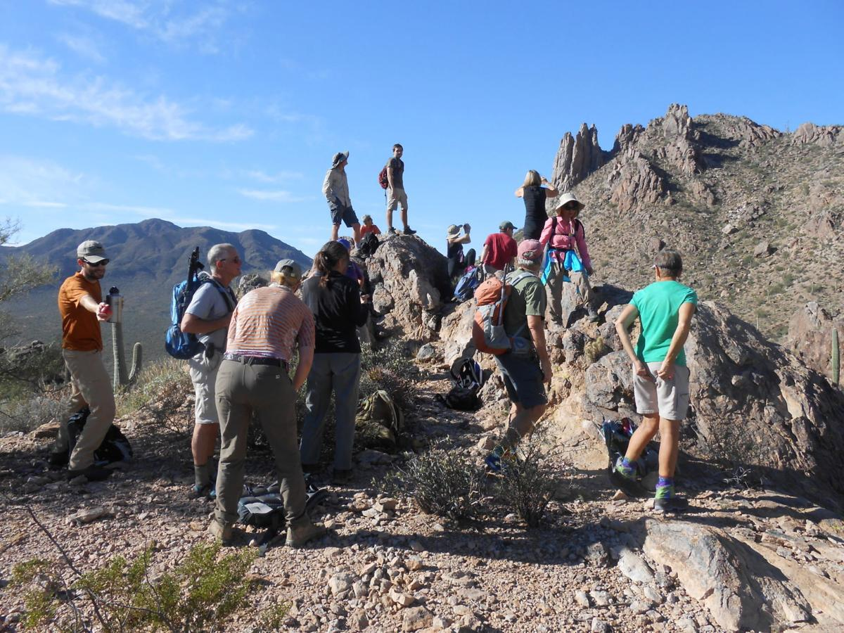 Ironwood Forest hikers