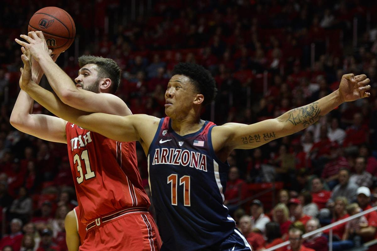 Arizona Utah Basketball