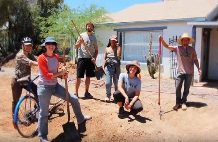 Living Lab Field Studies: Building Healthy Desert Soils — Watershed Management Group