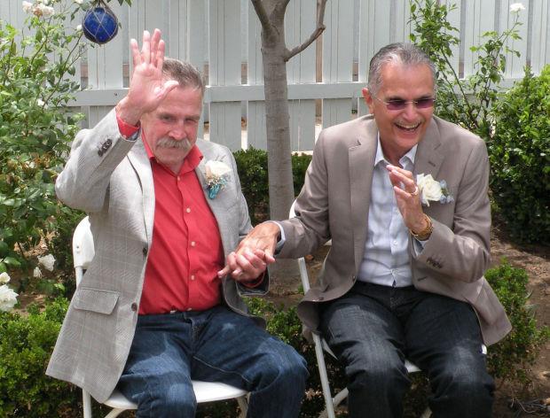 Fred McQuire and George Martinez