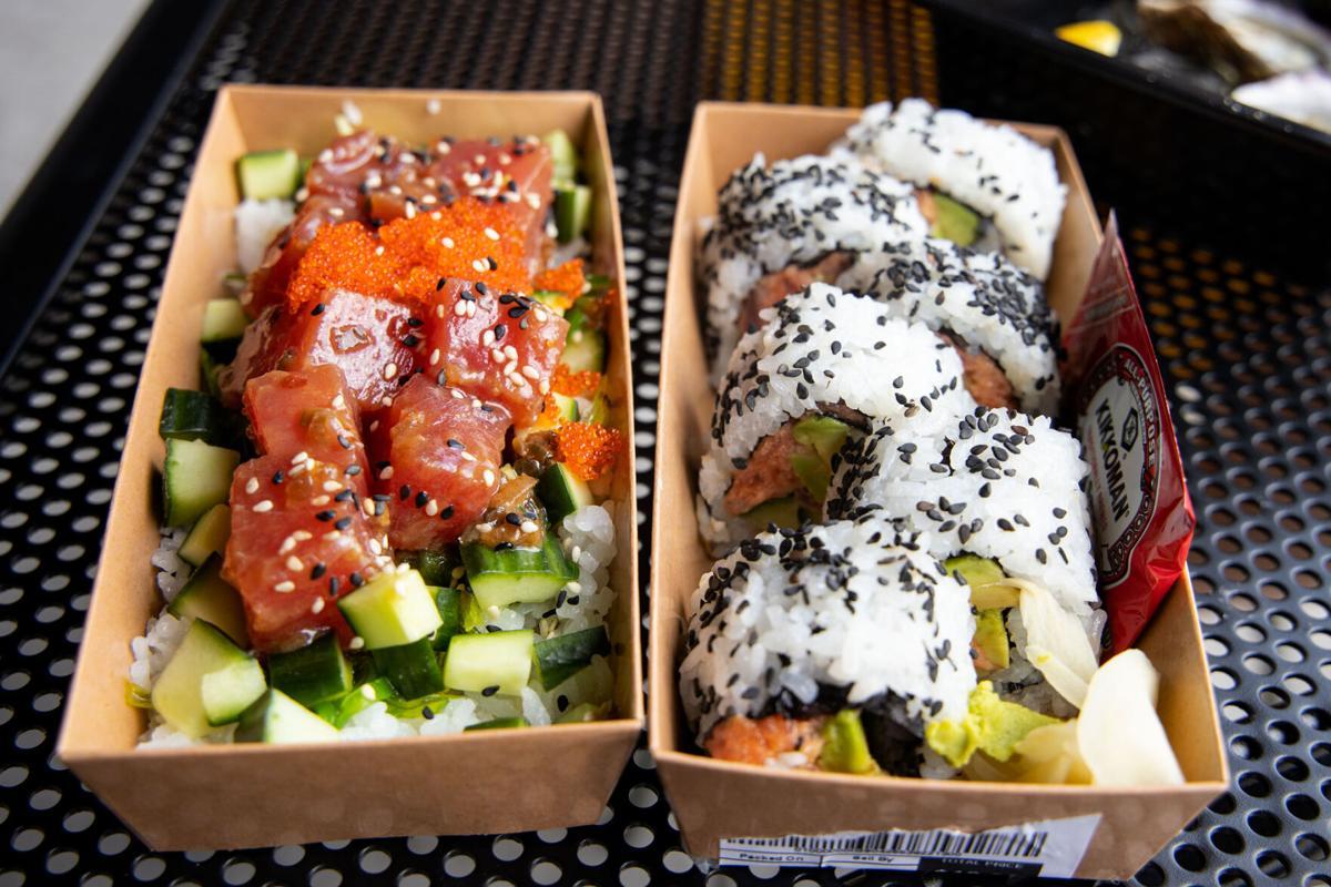 Flora's Market Run sushi