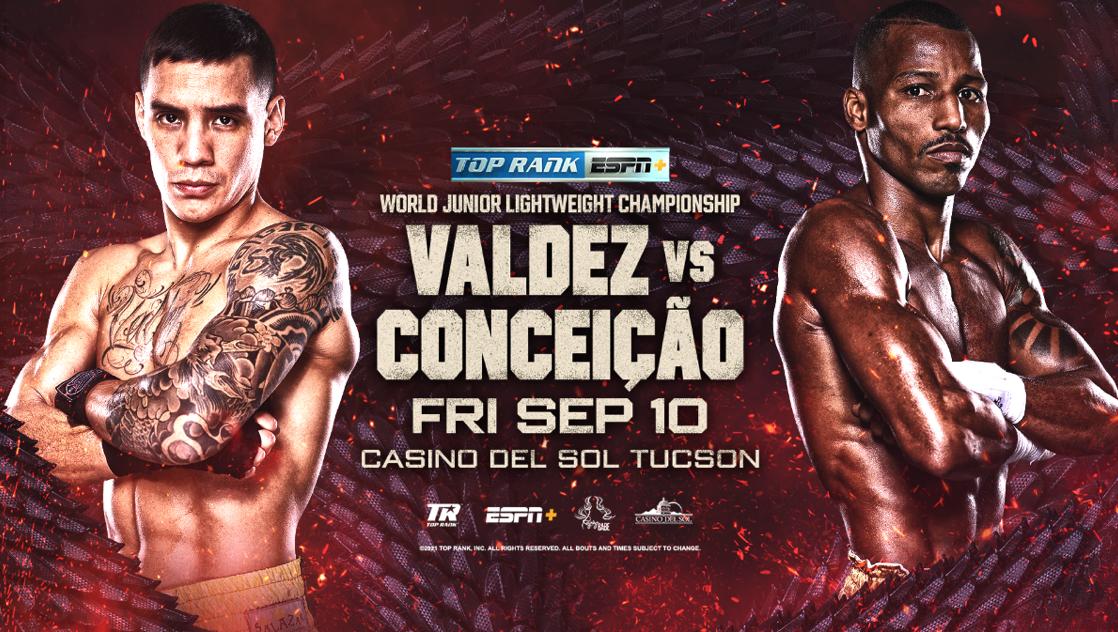 Oscar Valdez Sept 10 promotion