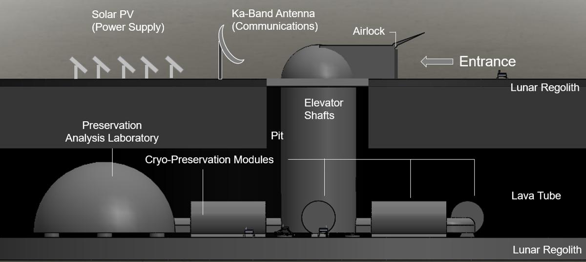 lunar ark rendering