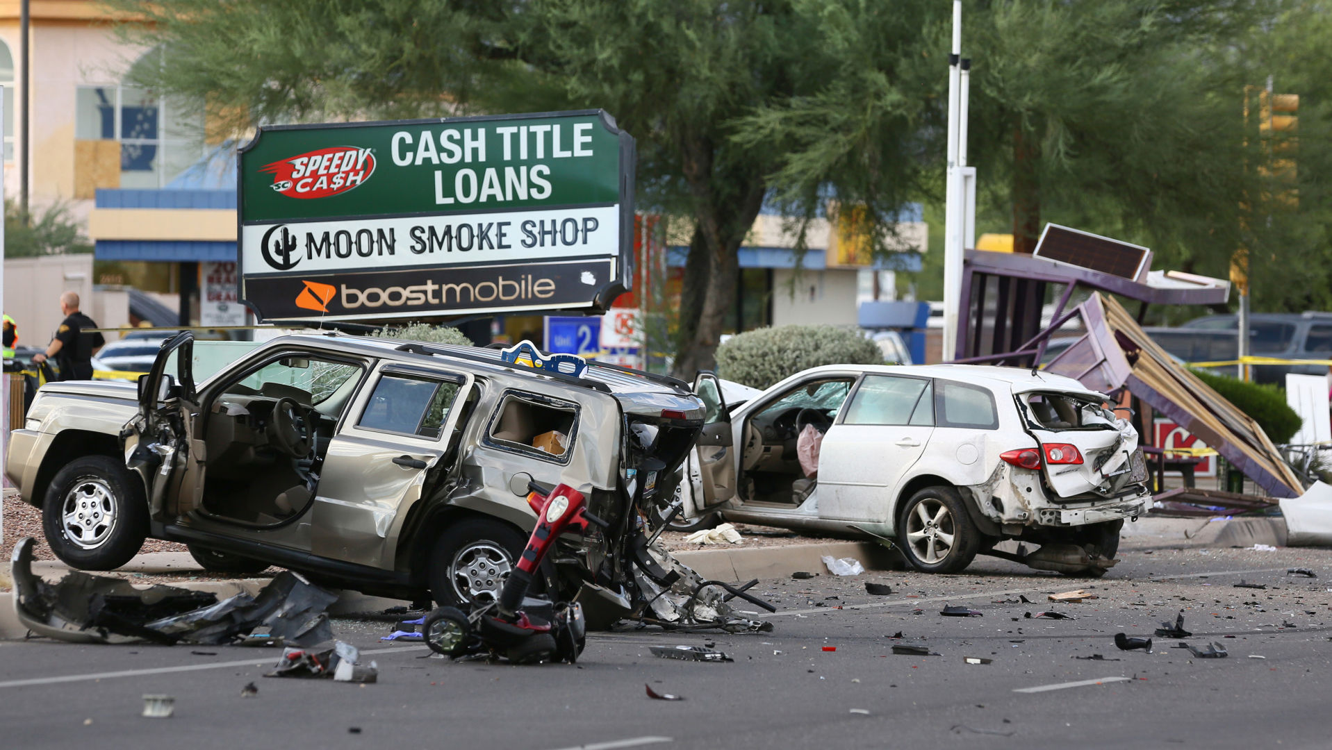 Death toll from crash last month into Tucson bus stop now at 3 people | Tucson.com