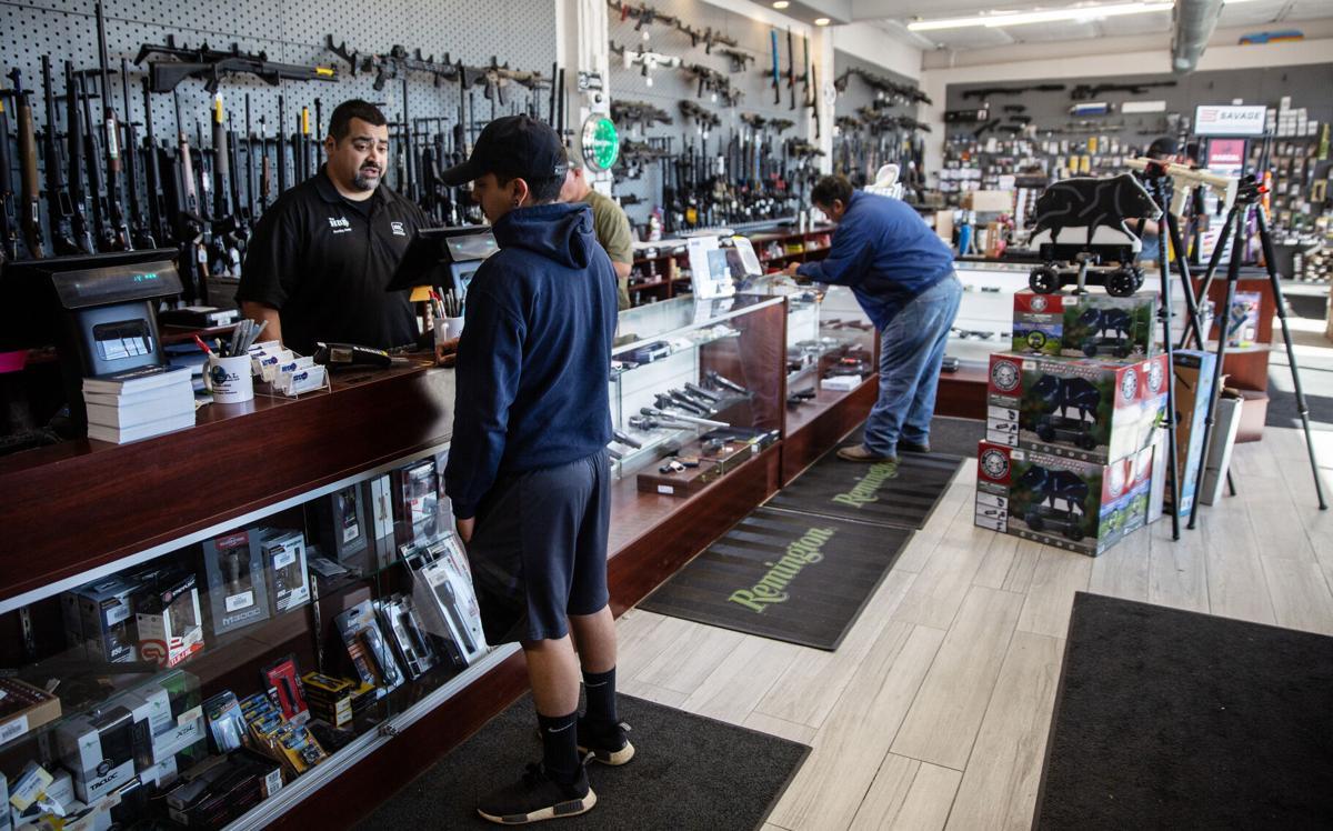 The Hub, gun store