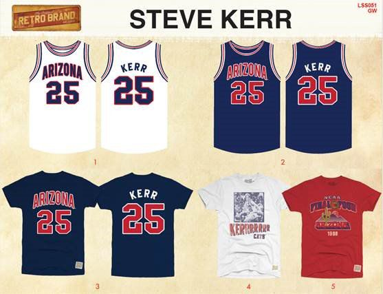 new arrival f39e8 352fb Steve Kerr: Lute Olson statue a 'fitting tribute' to ...