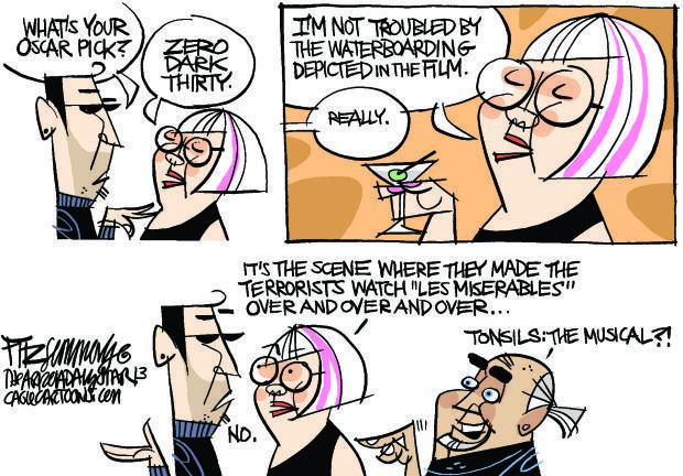 Daily Fitz Cartoon: Oscars
