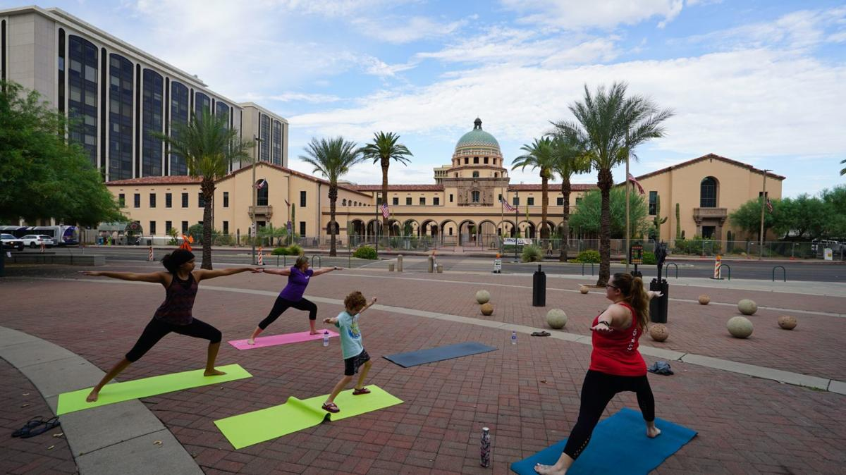 Health at Jacome: Yoga in the Park