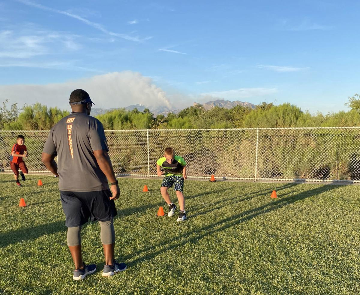 Marana Broncos summer workouts