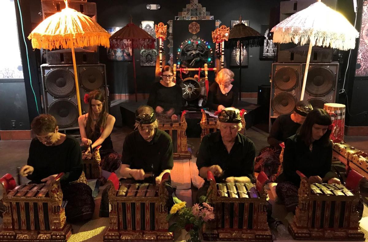Tucson Balinese Gamelan Orchestra Dewi Malam Concert