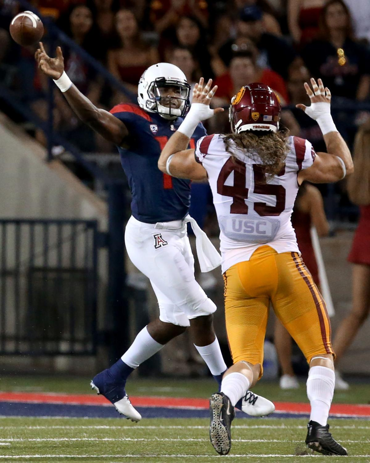 University of Arizona vs USC