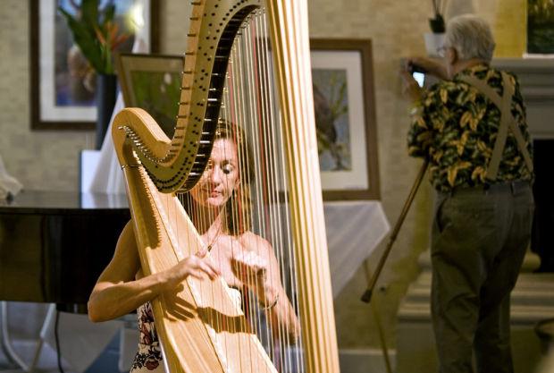 TSO harpist Vivona to play solo, choir show at Voyager