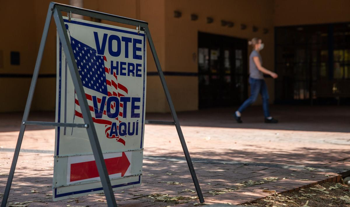 Primary election day in Tucson