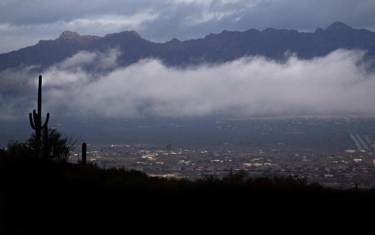 A refreshing rainy day across Tucson