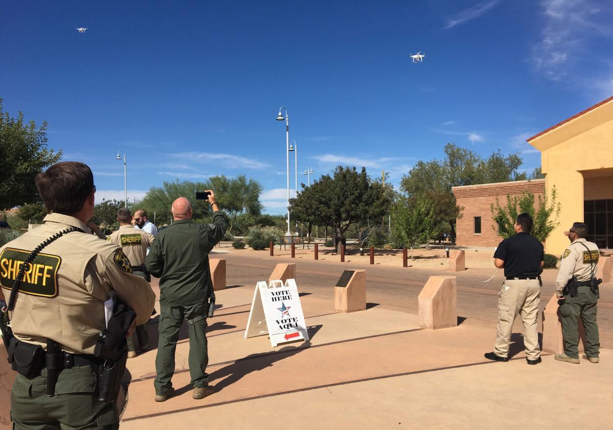 Drones for law enforcement