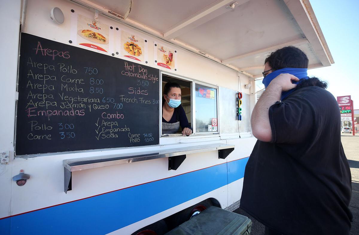 La Colombiana food truck (LE)