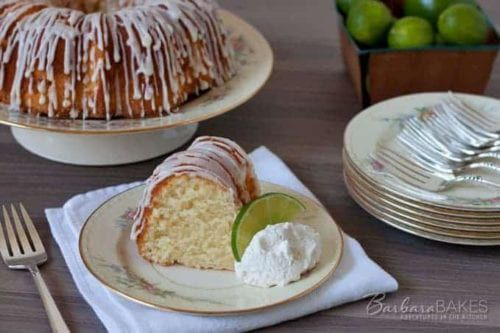This Key Lime Pound Cake Recipe Is Heaven On A Plate