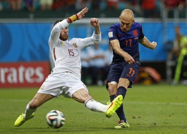 APTOPIX Brazil Soccer WCup Spain Netherlands