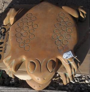 lawn art stepping stone frog.JPG