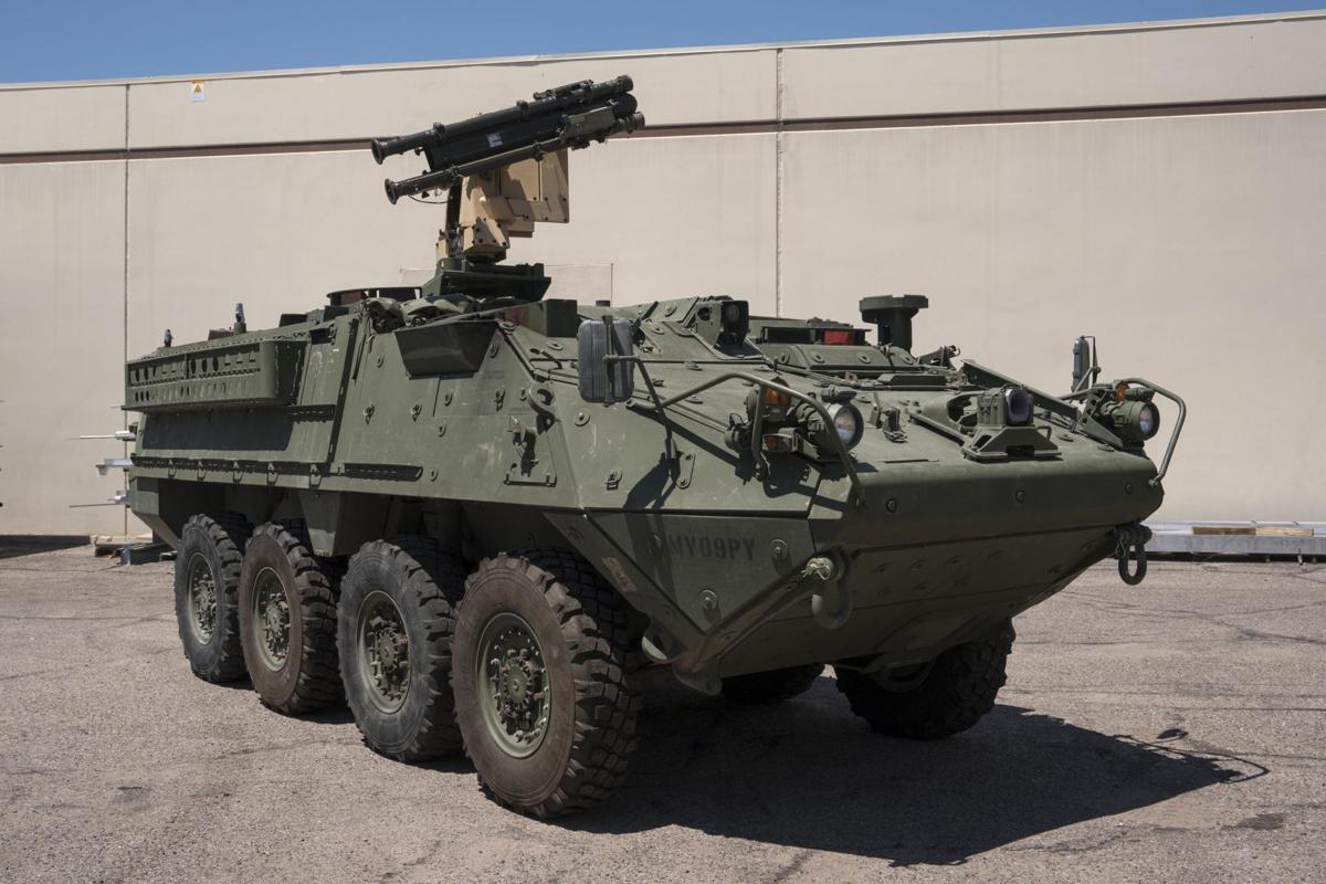 Raytheon vying for Army short-range mobile air defense program