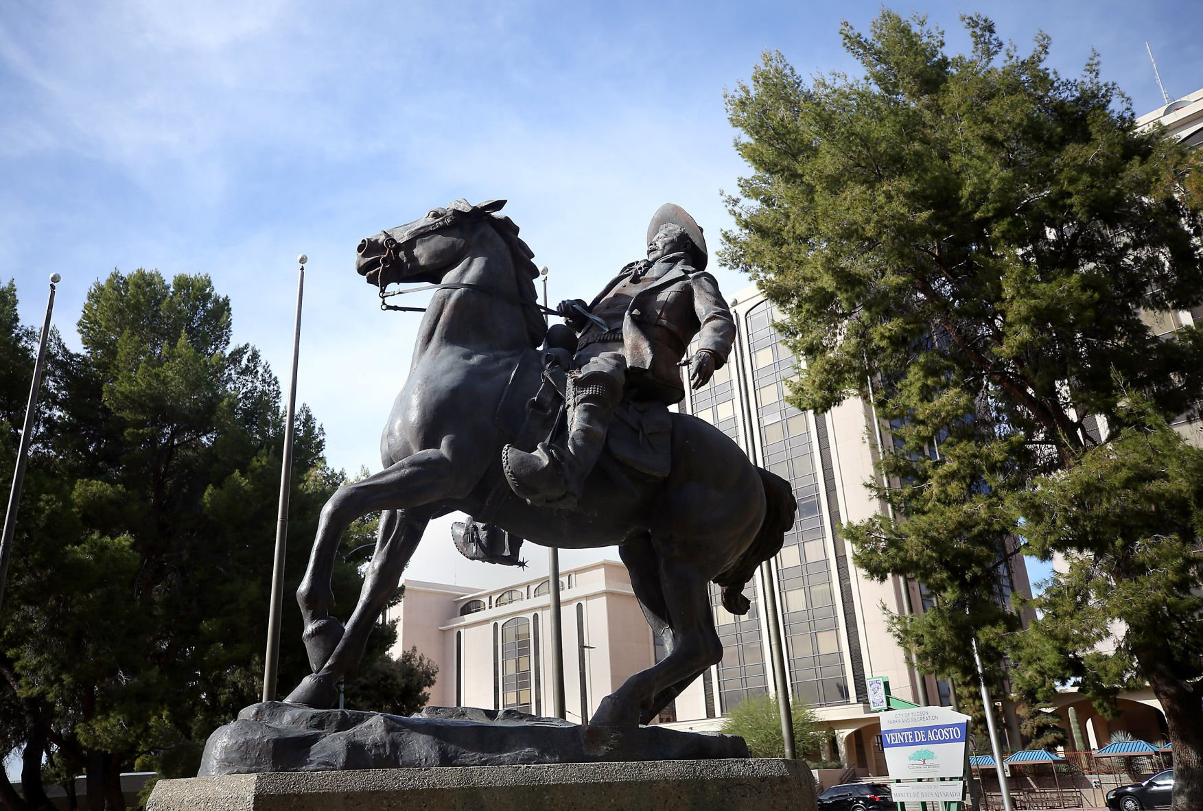 Latest request to remove Tucson's Pancho Villa statue rejected by arts council | Tucson.com