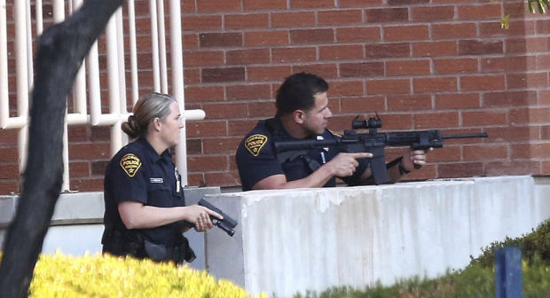 Gun report locks down UA buildings, but no man carrying weapons is found