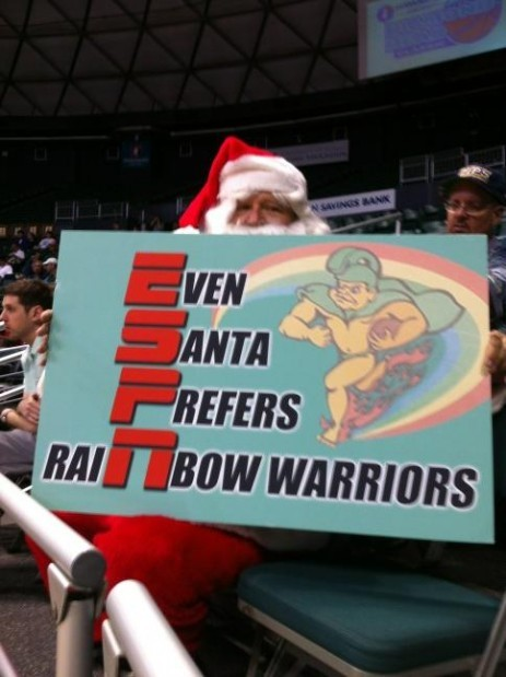 Santa detours to Honolulu