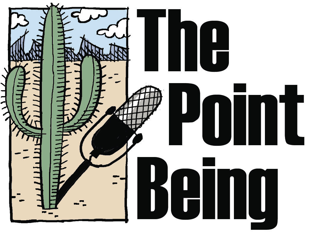 The Point Being logo ver 2