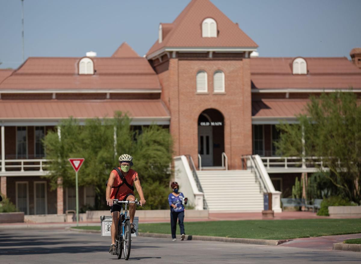 University of Arizona, pandemic, masks