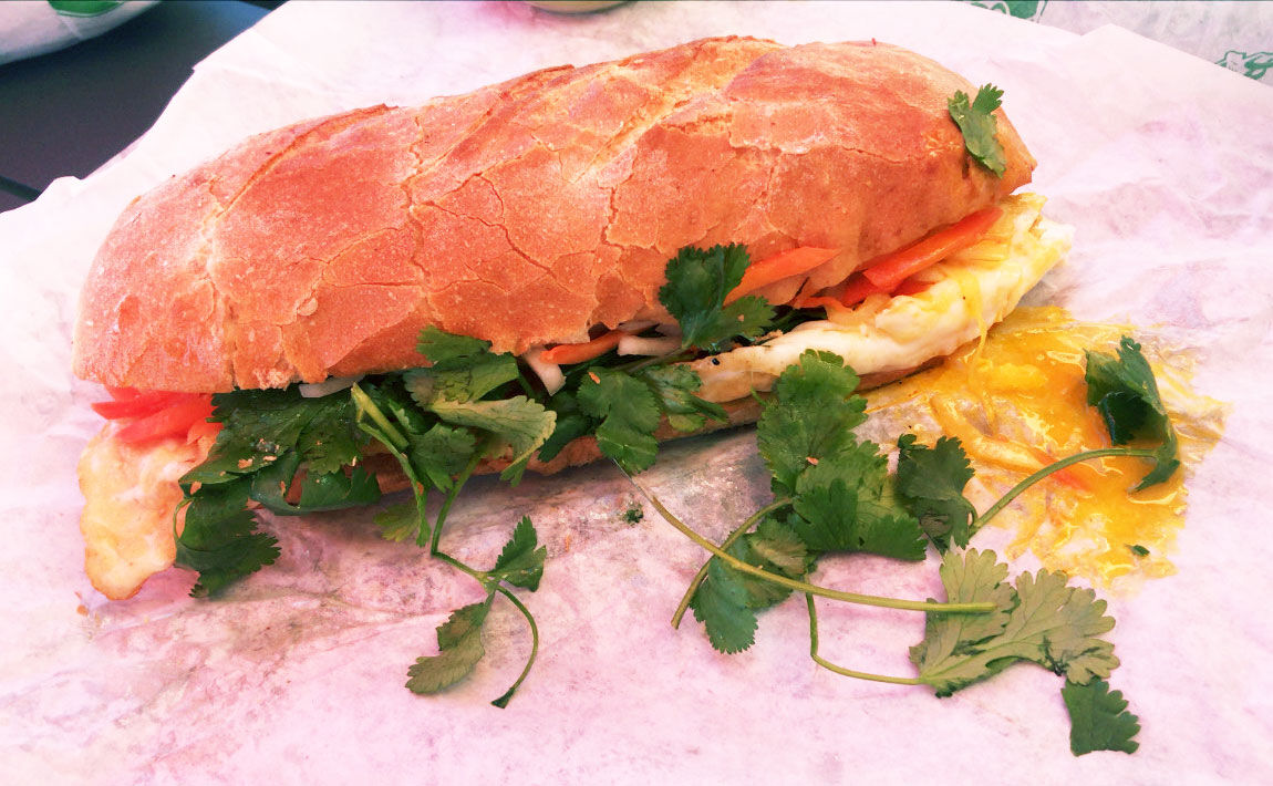 Banhdicted breakfast banh mi
