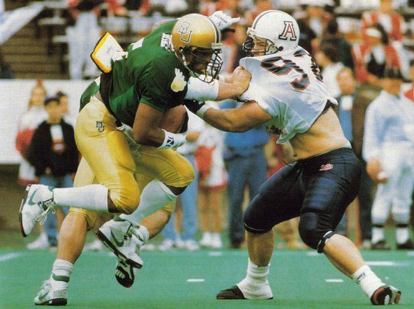 1992 John Hancock Bowl: Baylor 20, Arizona 15