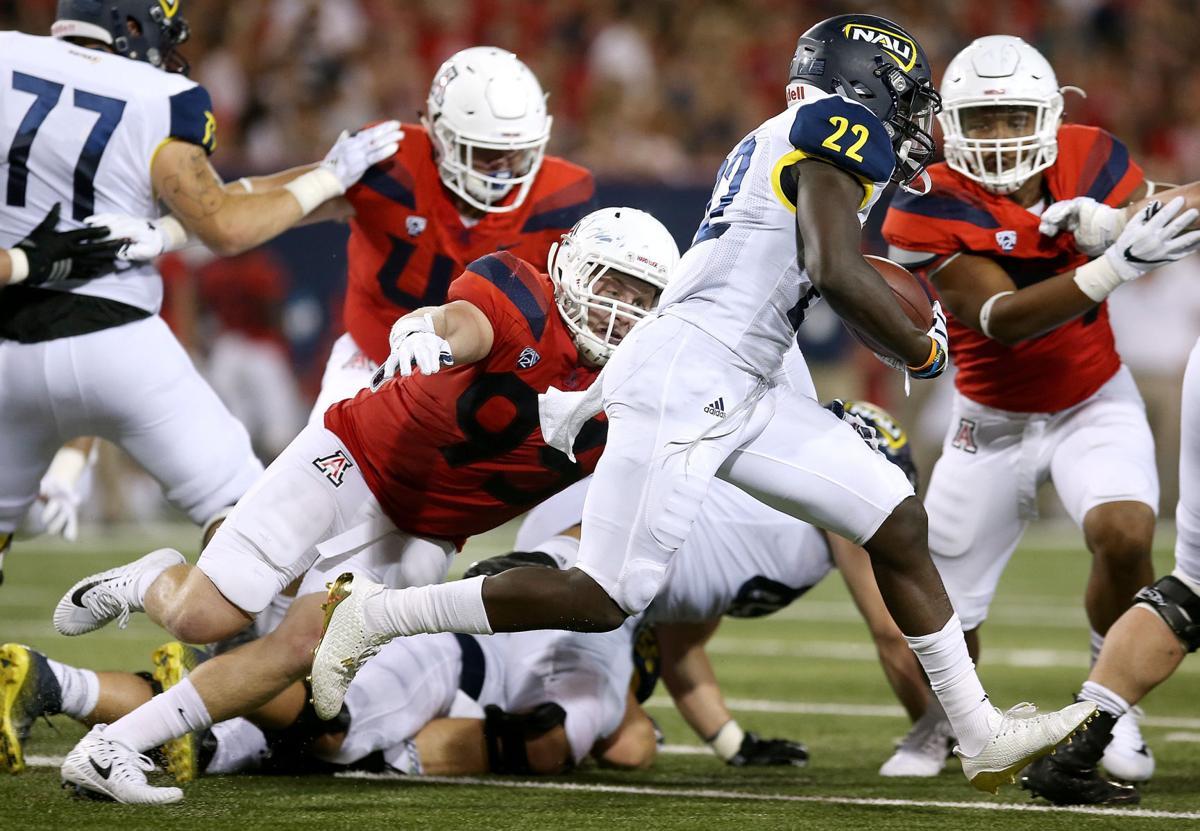 Northern Arizona University vs. University of Arizona college football