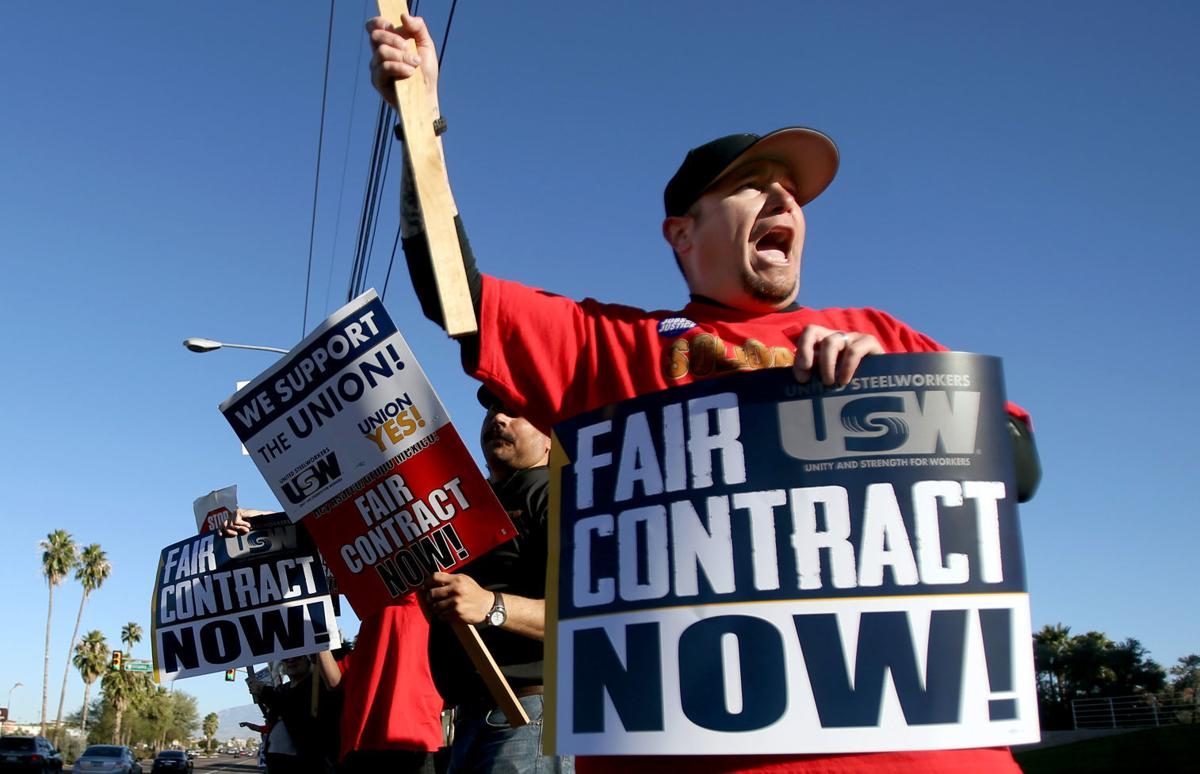 Workers vote to strike against Tucson-based Asarco over 'insulting' contract offer