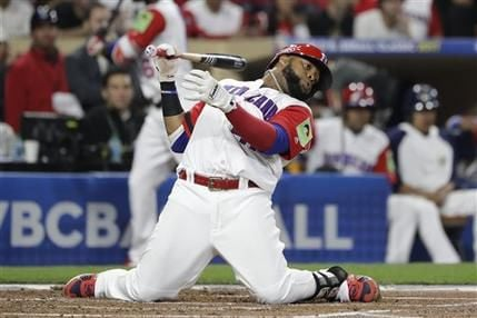 WBC US Dominican Republic Baseball