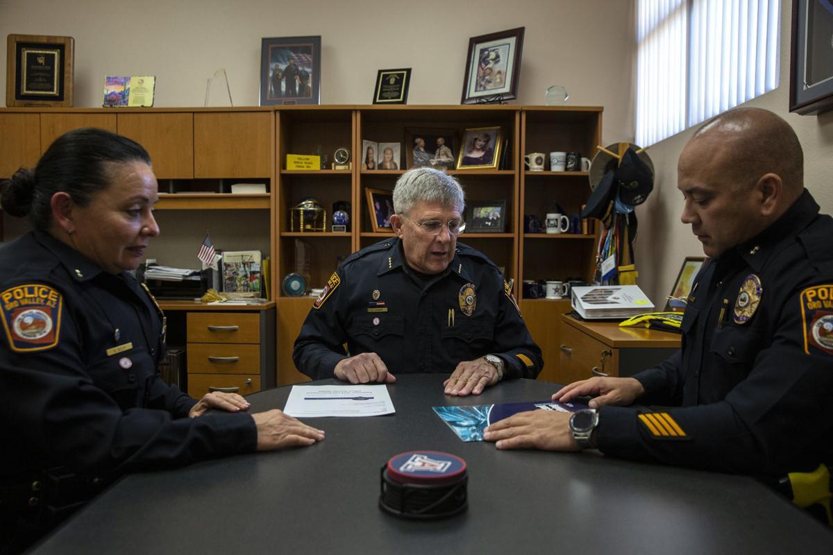 Oro Valley Police Chief Danny Sharp