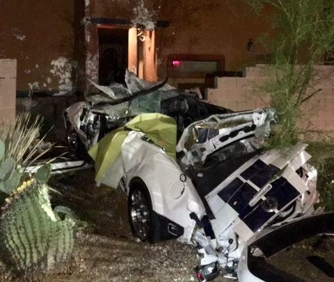 Speed a factor in fatal east side collision as car goes into residence