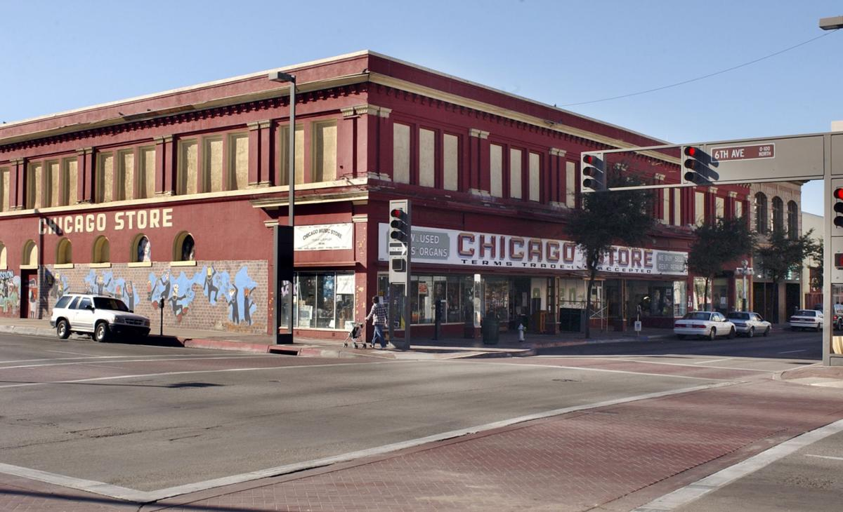 tucson 39 s historic chicago music store building may soon house cvs tucson business news. Black Bedroom Furniture Sets. Home Design Ideas
