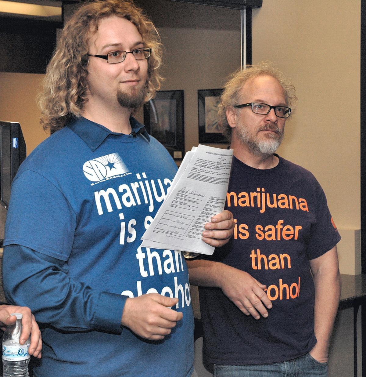 Campaign for legalized marijuana use